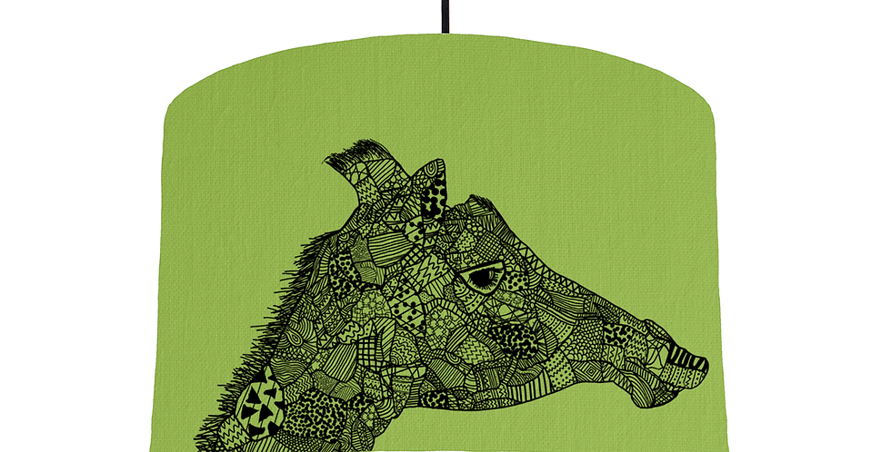 Giraffe - Pistachio Fabric