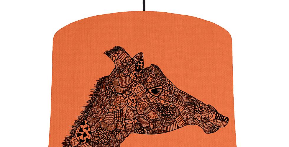 Giraffe - Orange Fabric