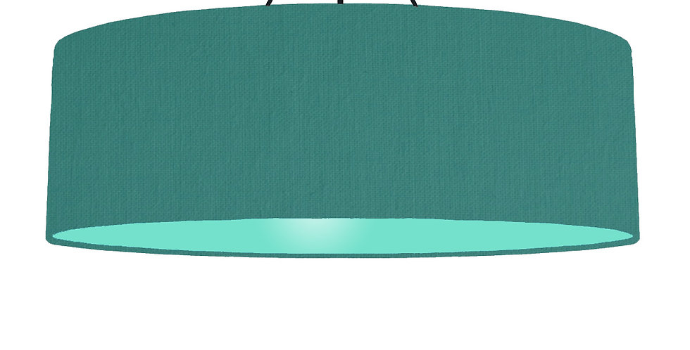 Jade & Mint Lampshade - 100cm Wide