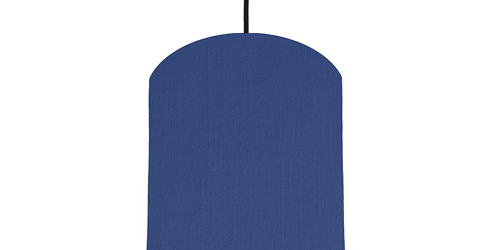 Royal Blue & Turquoise Lampshade - 20cm Wide