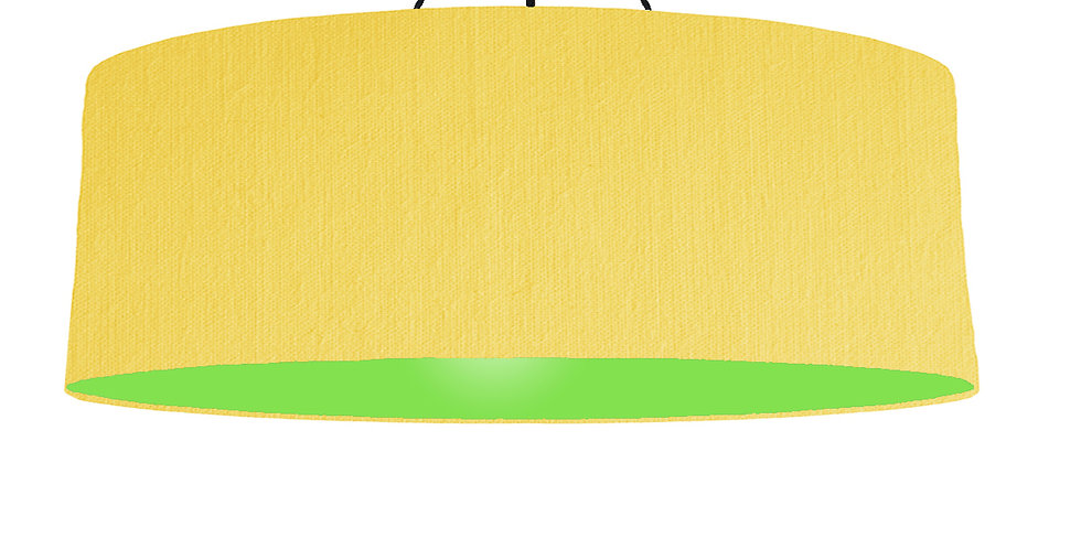 Lemon & Lime Green Lampshade - 100cm Wide