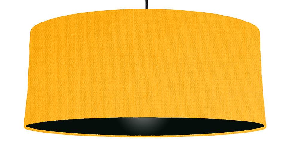 Sunshine & Black Lampshade - 70cm Wide