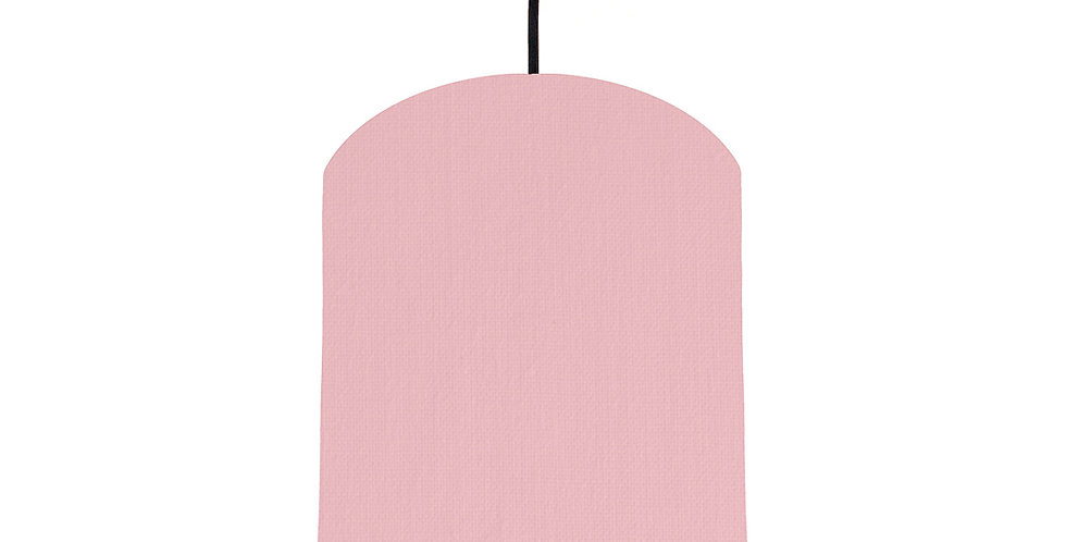 Pink & Burgundy Lampshade - 20cm Wide