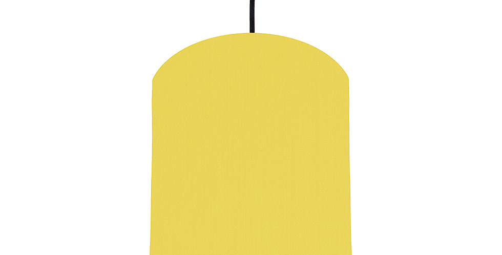 Lemon & Butter Yellow Lampshade - 20cm Wide