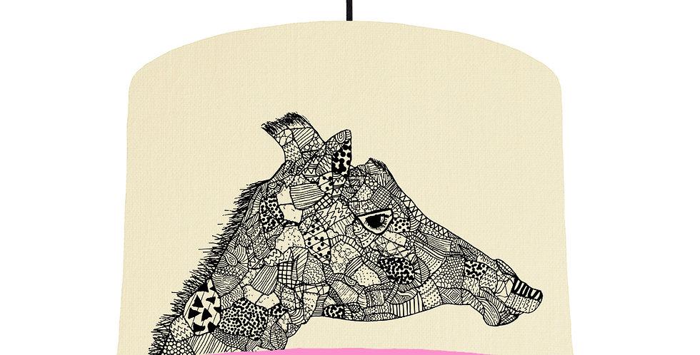 Giraffe - Natural & Pink