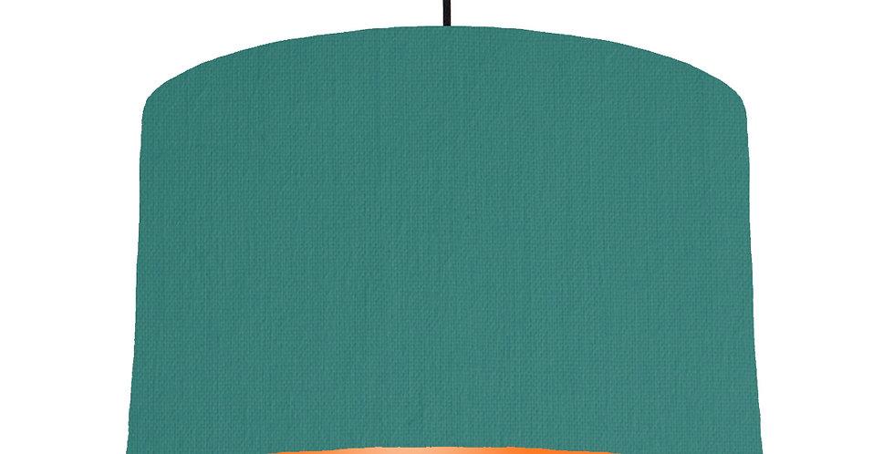 Jade & Orange Lampshade - 40cm Wide