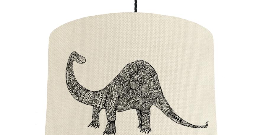 Dinosaur - Natural & Poppy Red Lining