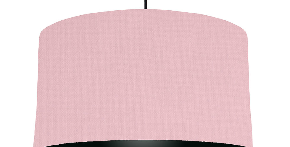Pink & Black Lampshade - 50cm Wide