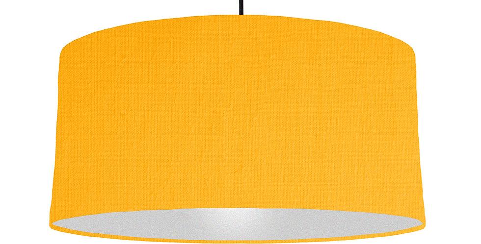 Sunshine & Silver Matt Lampshade - 60cm Wide