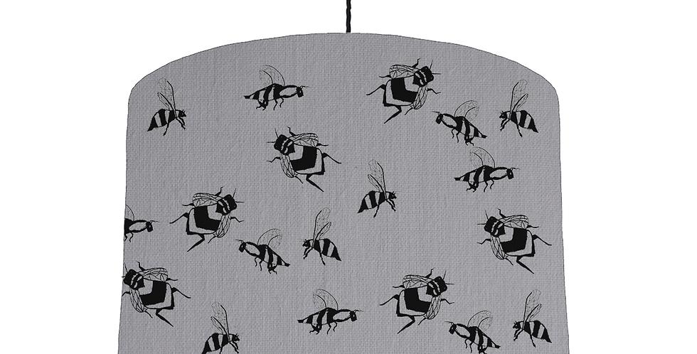 Bee Shade - Light Grey Fabric