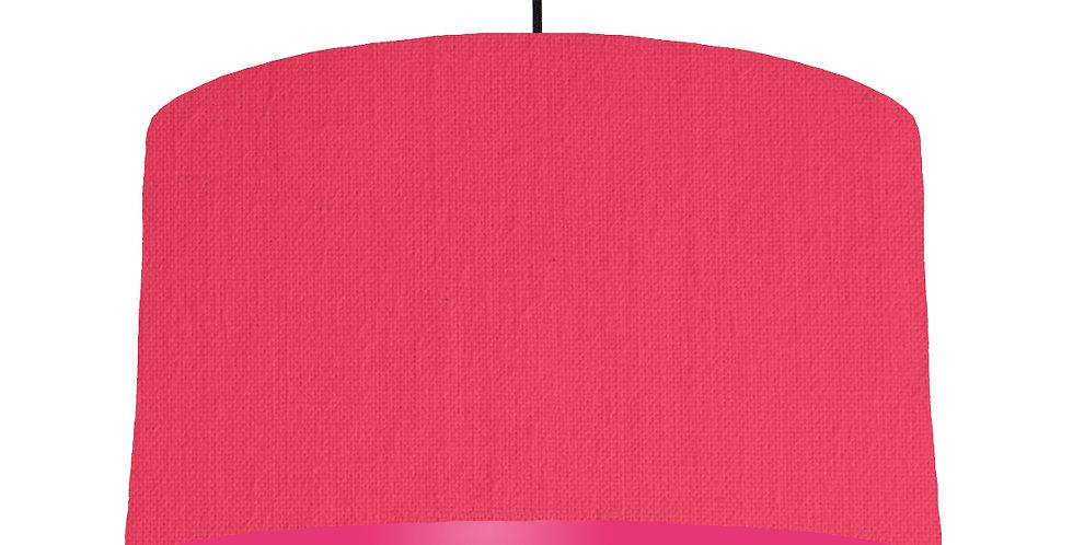 Cerise & Magenta Lampshade - 50cm Wide