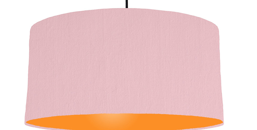 Pink & Orange Lampshade - 60cm Wide