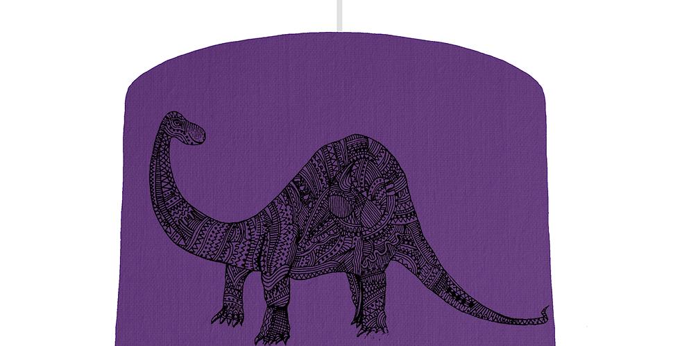 Dinosaur Shade - Violet Fabric