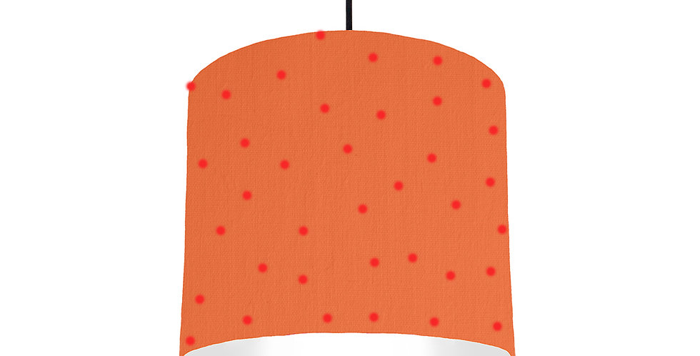 Pom Pom Lampshade With White Lining - 25cm Wide