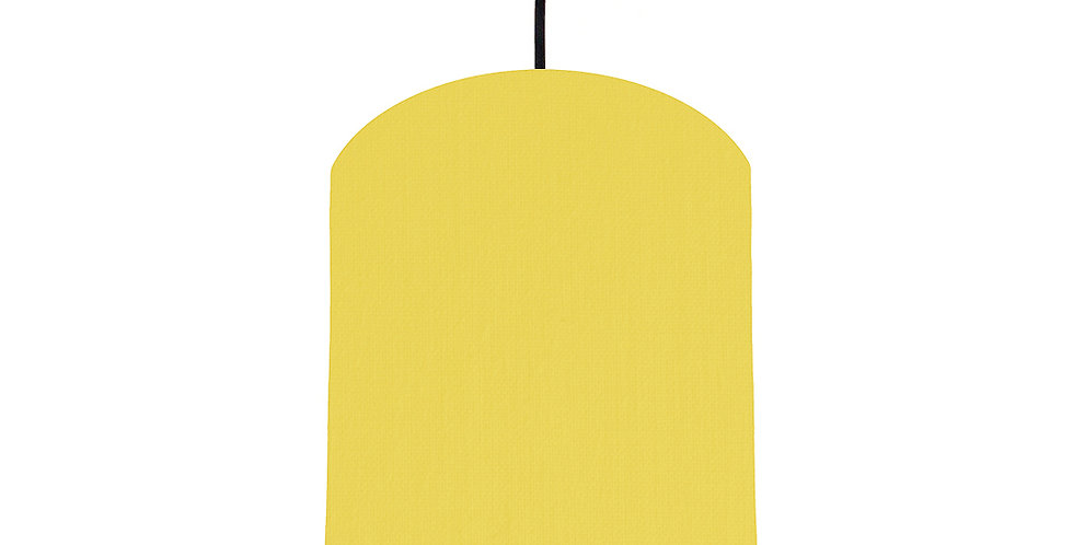 Lemon & Navy Lampshade - 20cm Wide
