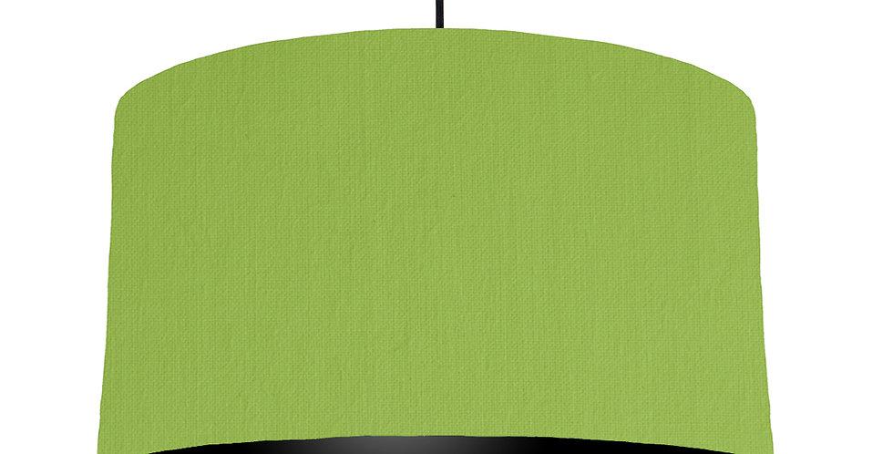 Pistachio & Black Lampshade - 50cm Wide