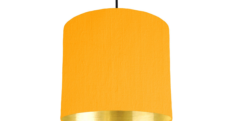 Sunshine & Gold Mirrored Lampshade - 25cm Wide