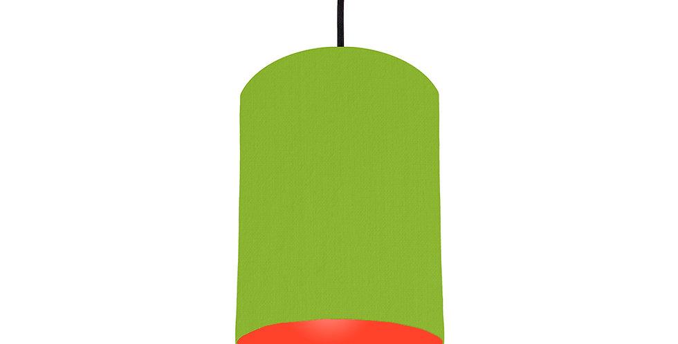 Pistachio & Poppy Red Lampshade - 15cm Wide