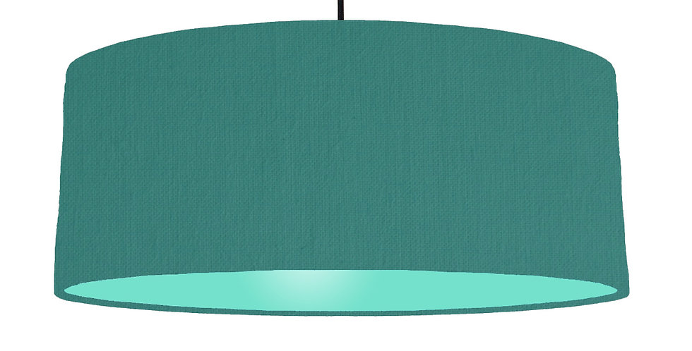 Jade & Mint Lampshade - 70cm Wide