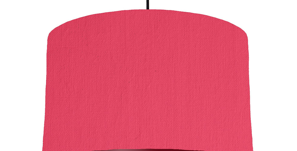 Cerise & Burgundy Lampshade - 40cm Wide