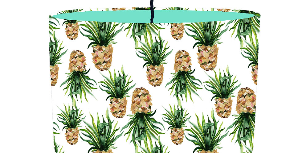 Pineapple Lampshade - Colour Lining