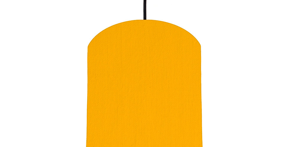 Sunshine & Navy Lampshade - 20cm Wide