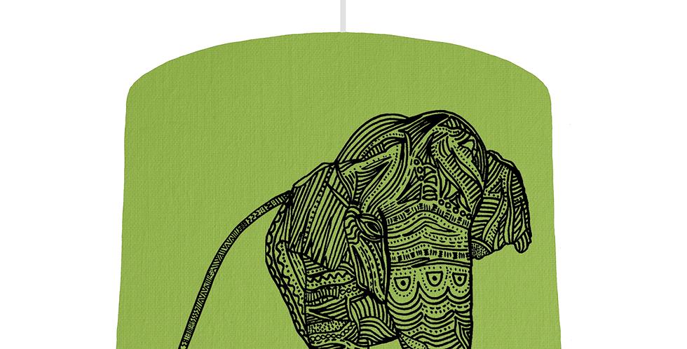 Elephant Shade - Pistachio Fabric