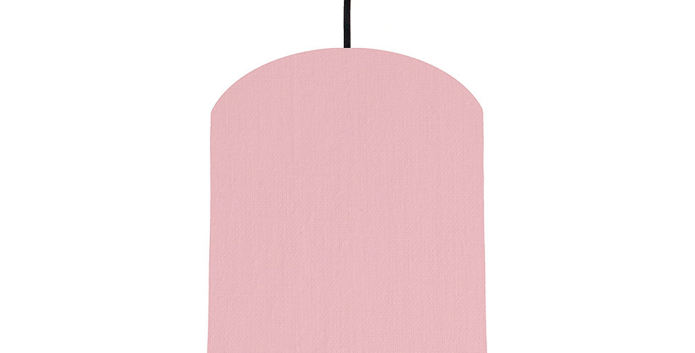 Pink & Ivory Lampshade - 20cm Wide