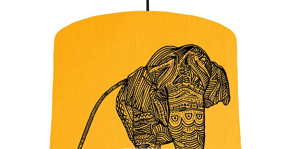 Elephant - Sunshine Fabric