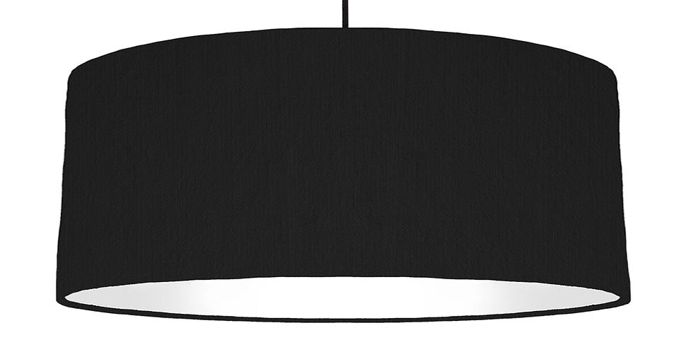 Black & White Lampshade - 70cm Wide