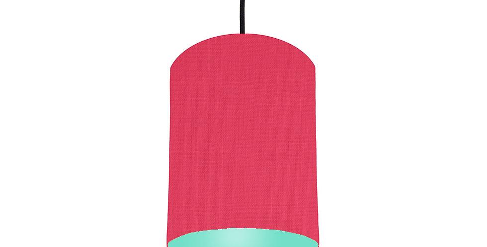 Cerise & Mint Lampshade - 15cm Wide