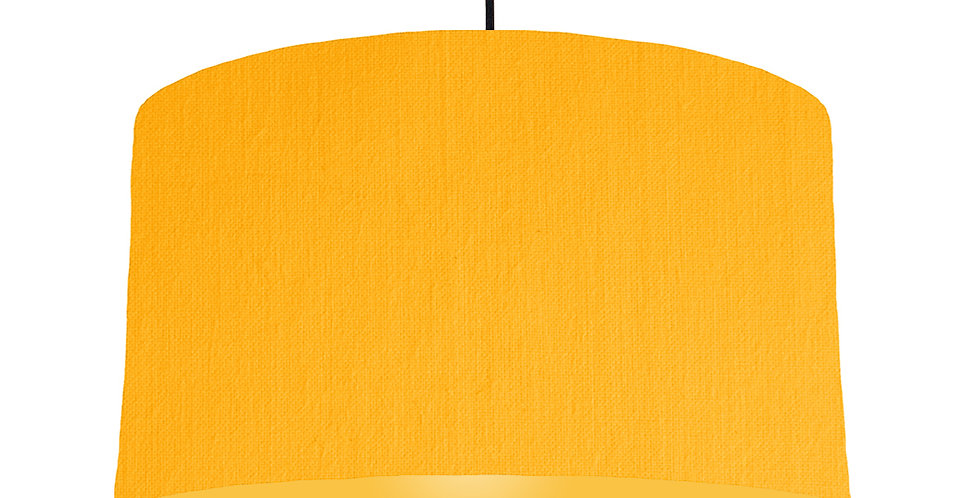Sunshine & Butter Yellow Lampshade - 50cm Wide