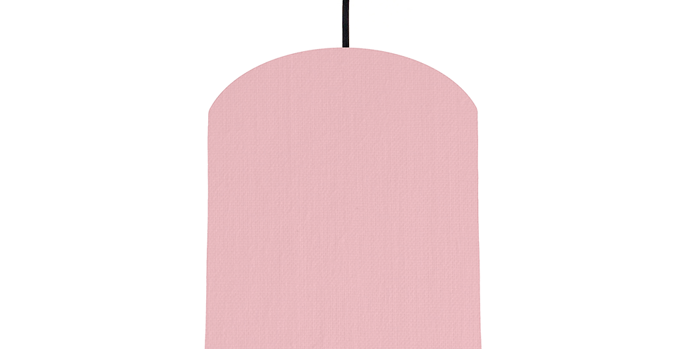 Pink & Copper Mirrored Lampshade - 20cm Wide