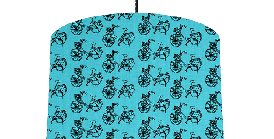 Bike - Turquoise & Copper Mirror Lining