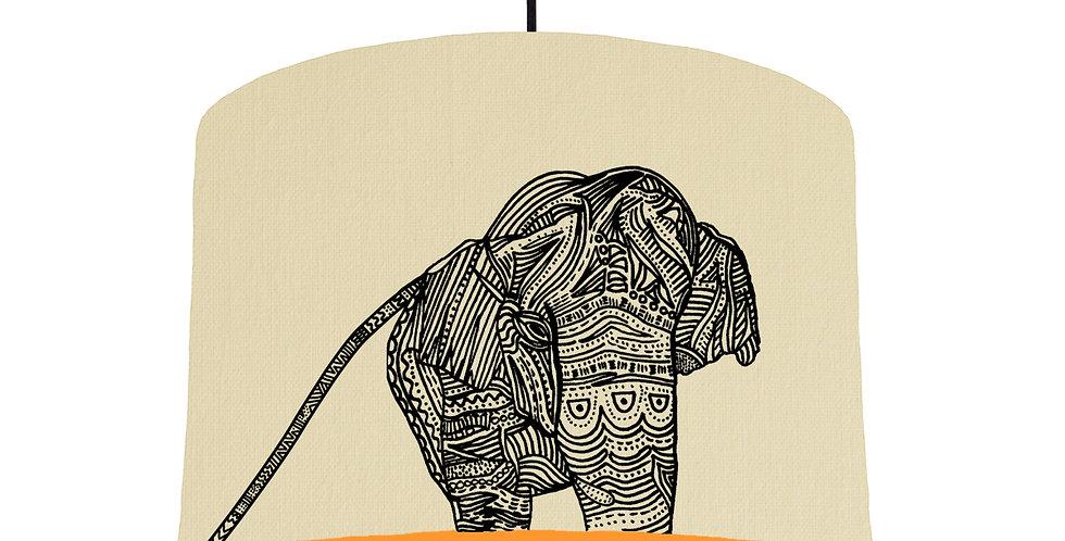Elephant - Natural & Orange Lining
