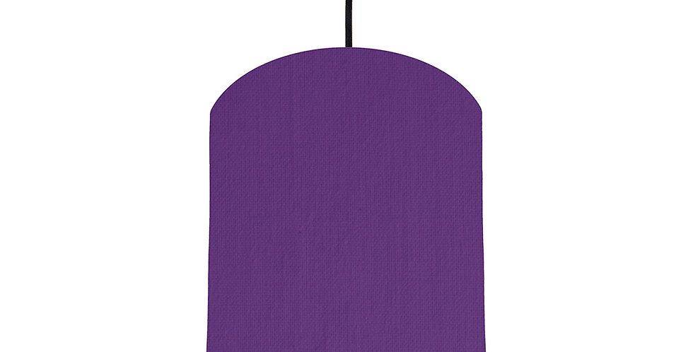 Violet & Turquoise Lampshade - 20cm Wide
