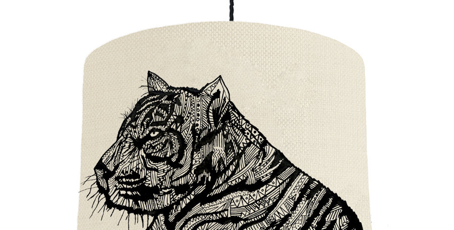 Tiger - Natural & Forest Green Lining