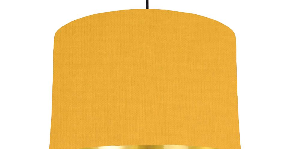 Sunshine & Gold Mirrored Lampshade - 30cm Wide