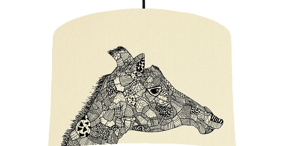 Giraffe - Natural & White Lining