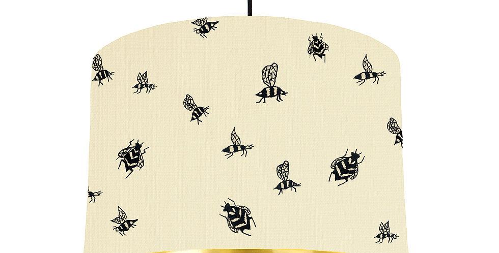Bumble Bee - Natural & Gold Mirror