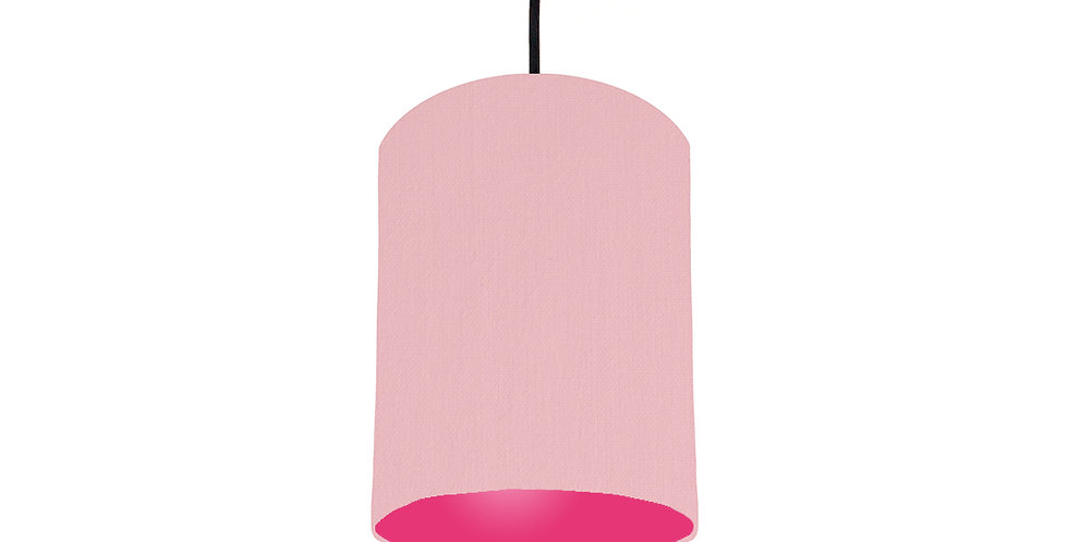 Pink & Magenta Pink Lampshade - 15cm Wide