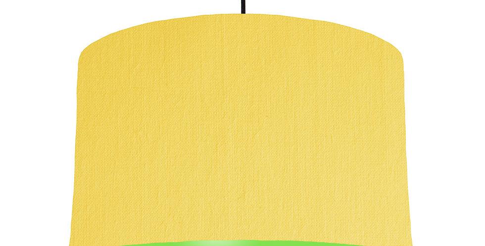 Lemon & Lime Green Lampshade - 40cm Wide