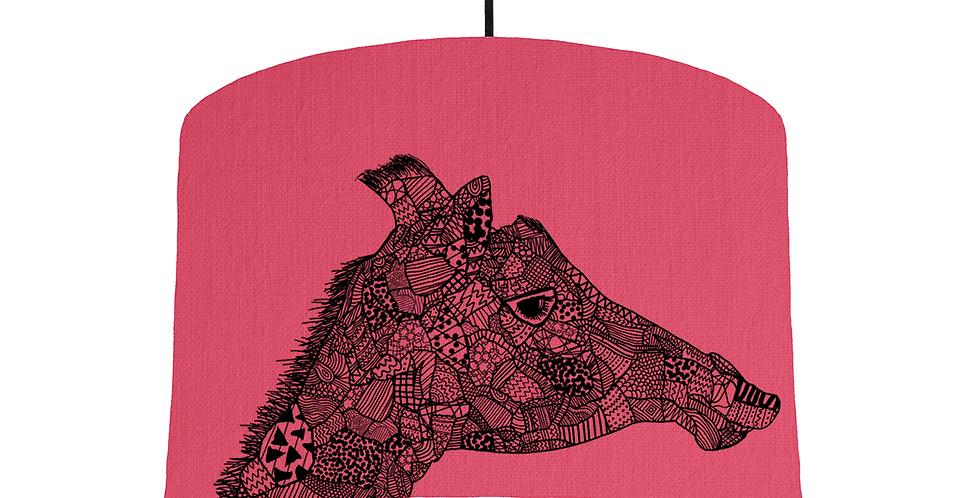 Giraffe - Cerise Fabric