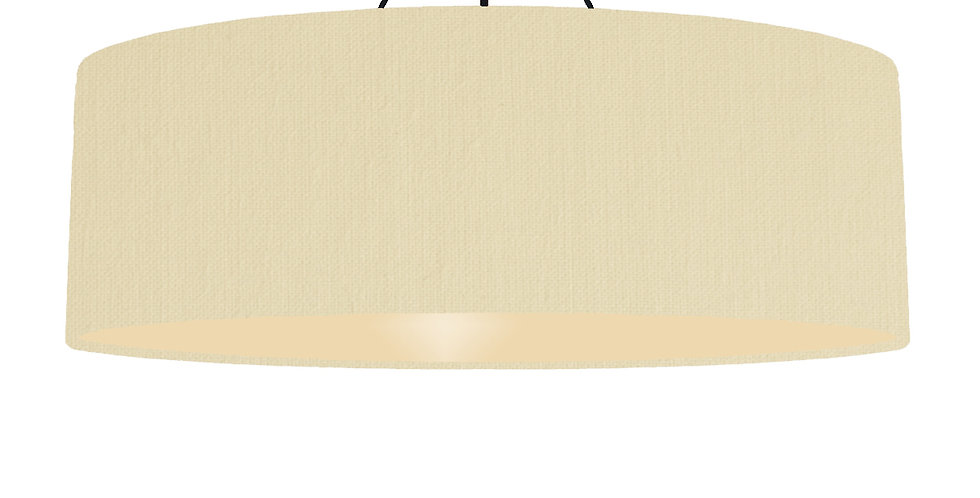 Natural & Ivory Lampshade - 100cm Wide