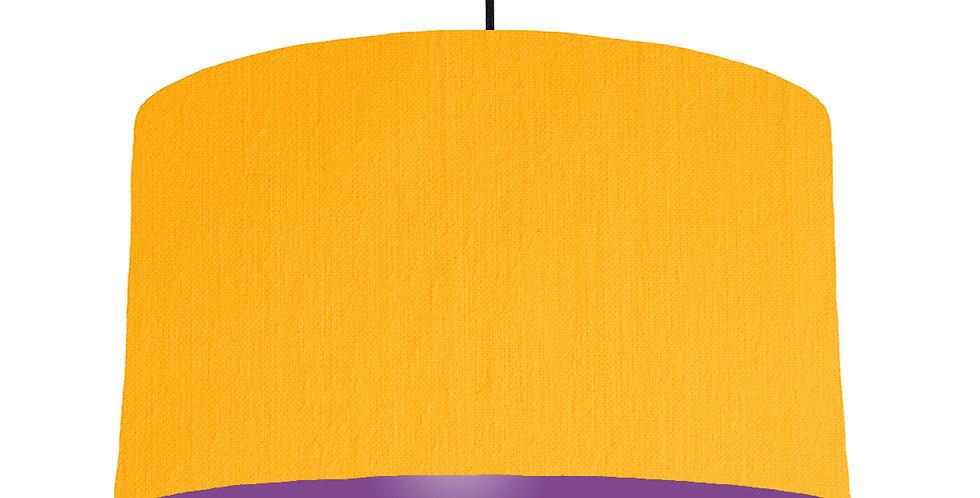 Sunshine & Purple Lampshade - 50cm Wide