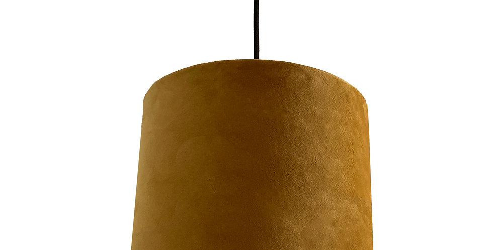 Mustard Velvet Lampshade
