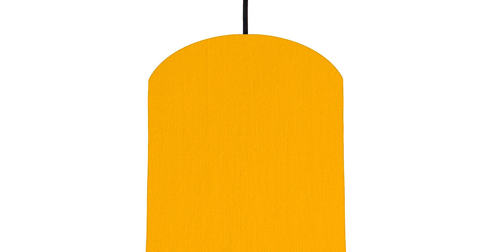 Sunshine & Wood Lined Lampshade - 20cm Wide