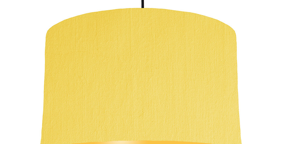 Lemon & Butter Yellow Lampshade - 40cm Wide