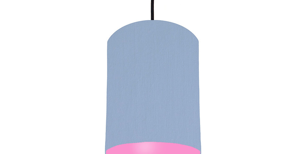 Sky Blue & Pink Lampshade - 15cm Wide