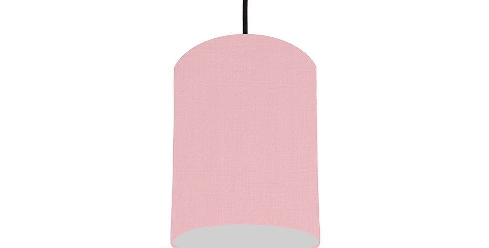 Pink & Light Grey Lampshade - 15cm Wide